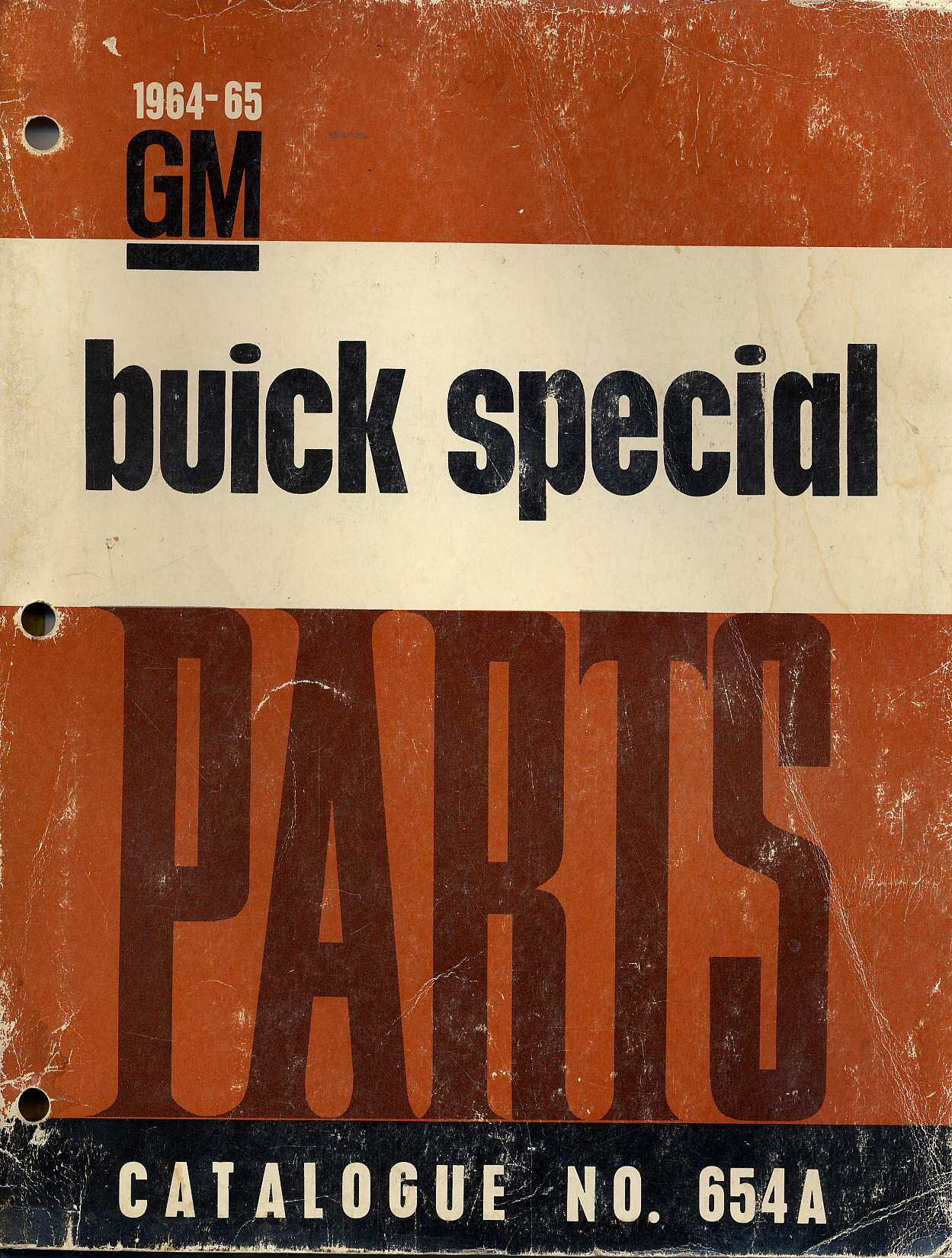 1964-65 Buick Special Master Parts Catalog