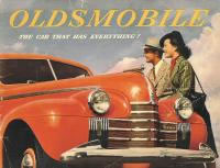 1940 Oldsmobile Brochure