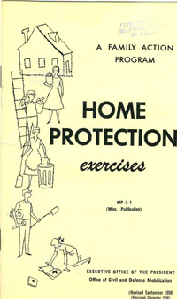1958 Civil Defense Booklet