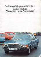 77 Mercedes Benz Auto Brochure