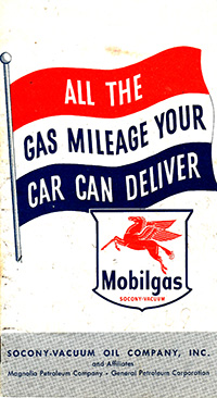 1951 MobilGas Economy Run Booklet