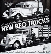 REO truck ad