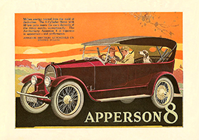 1919 Apperson Ad
