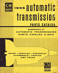 1956 GM Automatic Transmission Parts Catalog