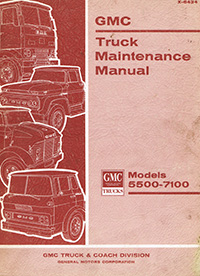 1964 GMC Medium Truck Manual