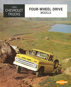 1965 Chevrolet 4WD Brochure