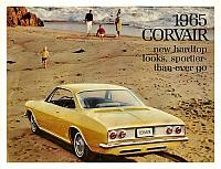 1965 Chevrolet Corvair brochure