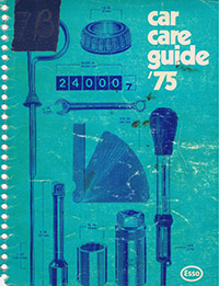 1975 Car Care Guide