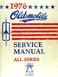 1976 Oldsmobile Service Manual