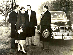 Henry Ford II visits Holland, 1948