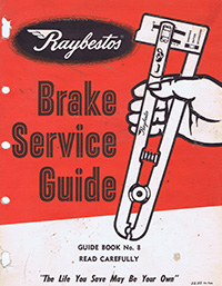 Raybestos Brake Service Guide