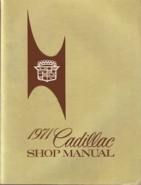 1971 Cadillac Shop Manual