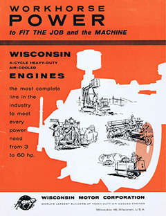 Wisconsin 4 cyl air cooled engines