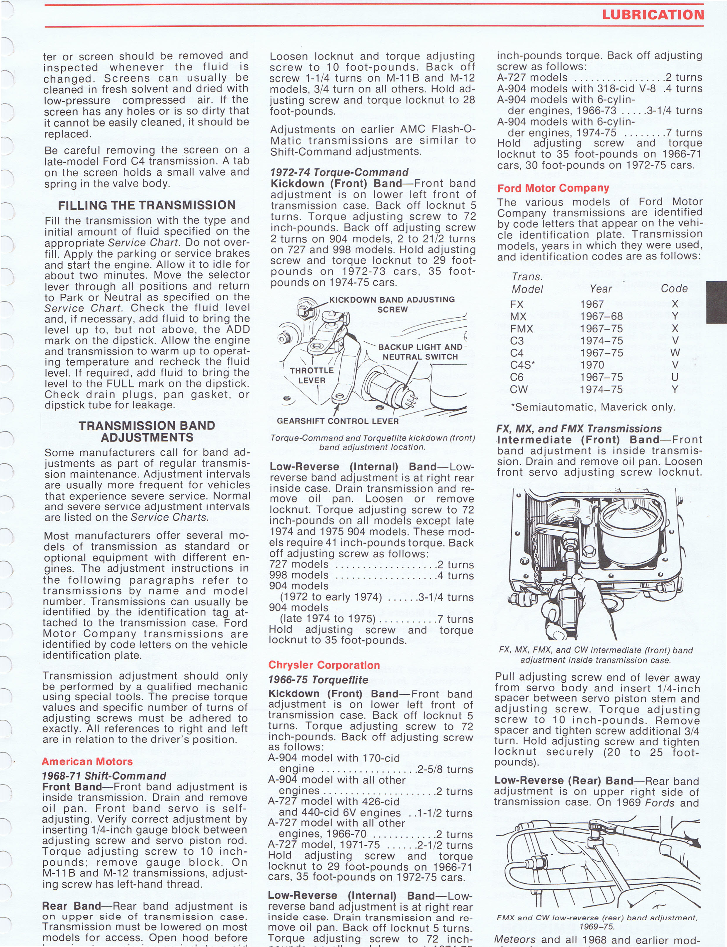 1975 Esso Car Care Guide 1966 75 Cars Page 10 Of 234 Ford Backup Light Switch Location Full Size Image