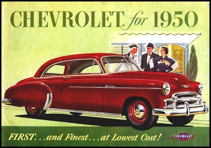1950 Chevrolet Brochure