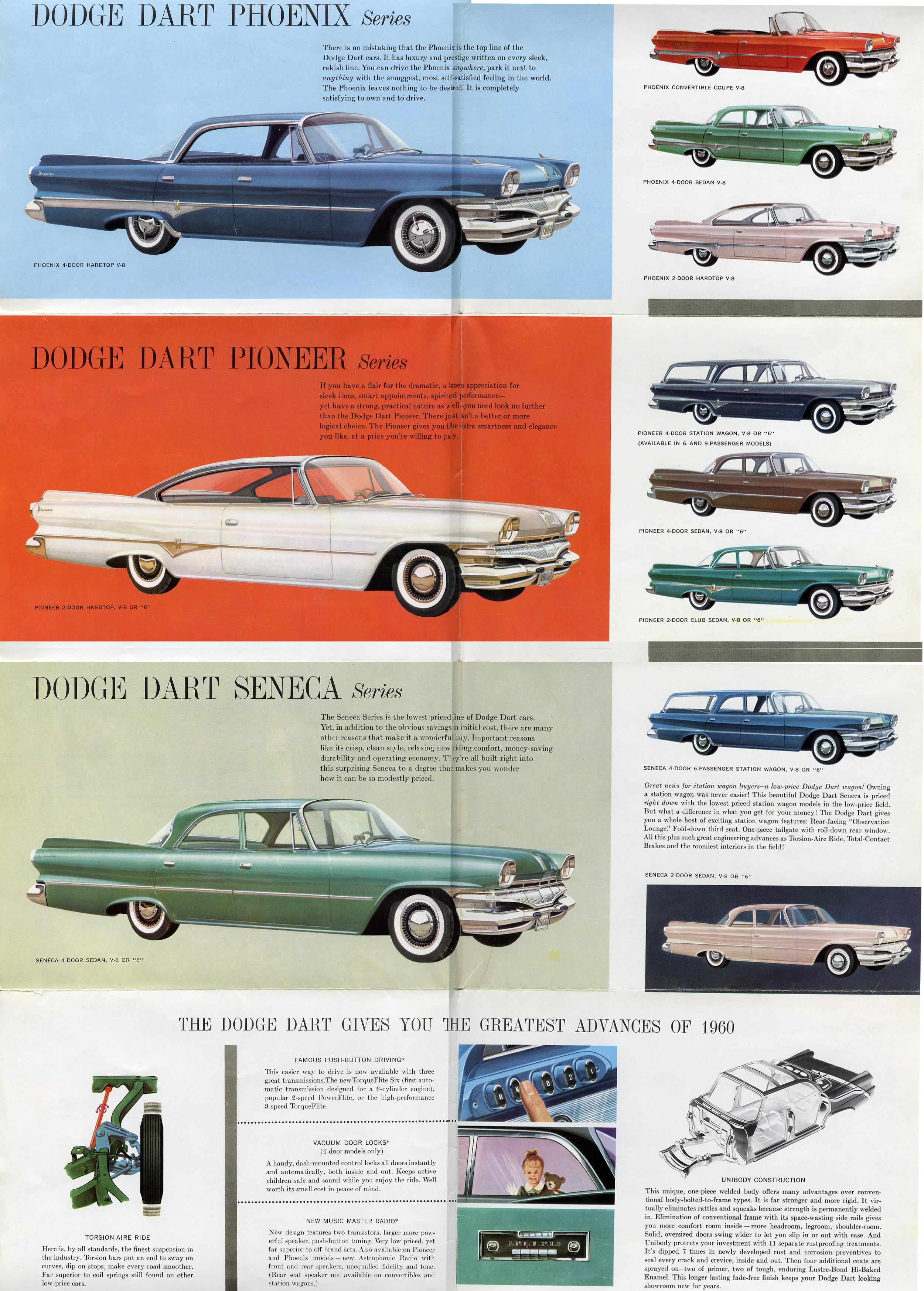 1960 Dodge Dart Brochure