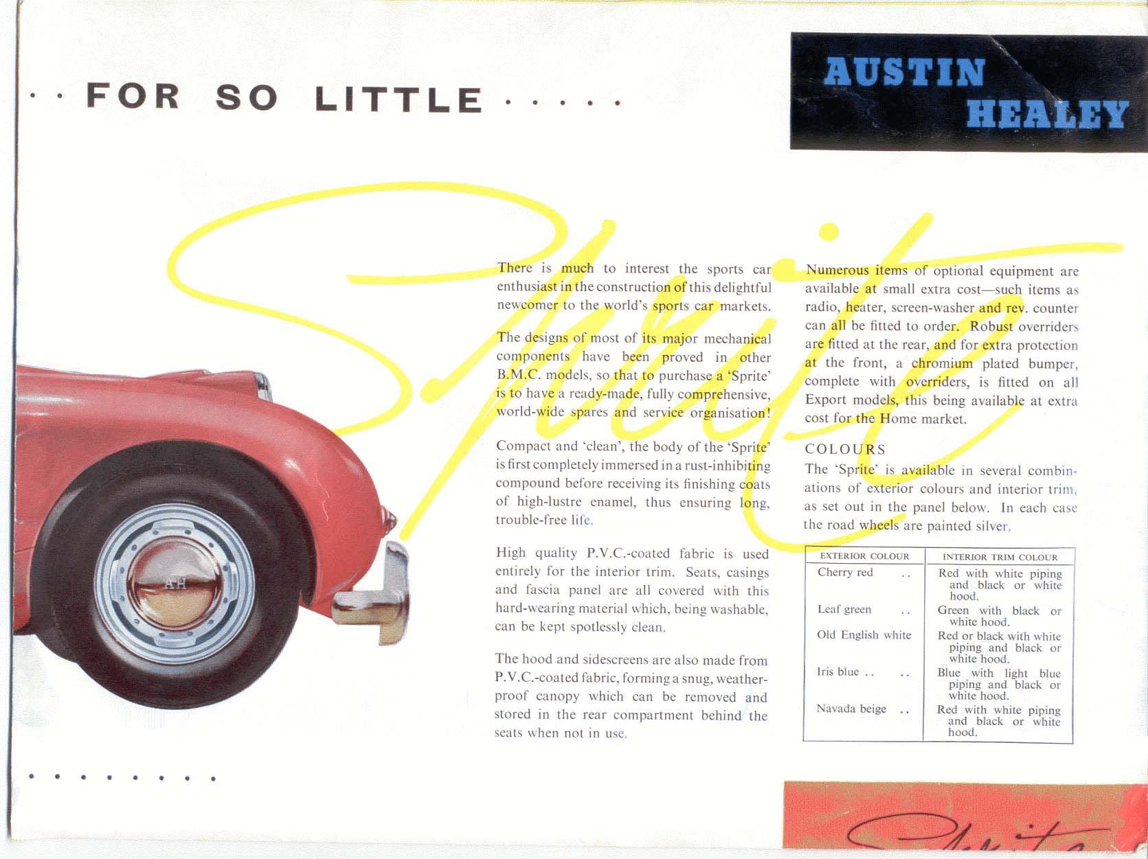Austin Healy Car