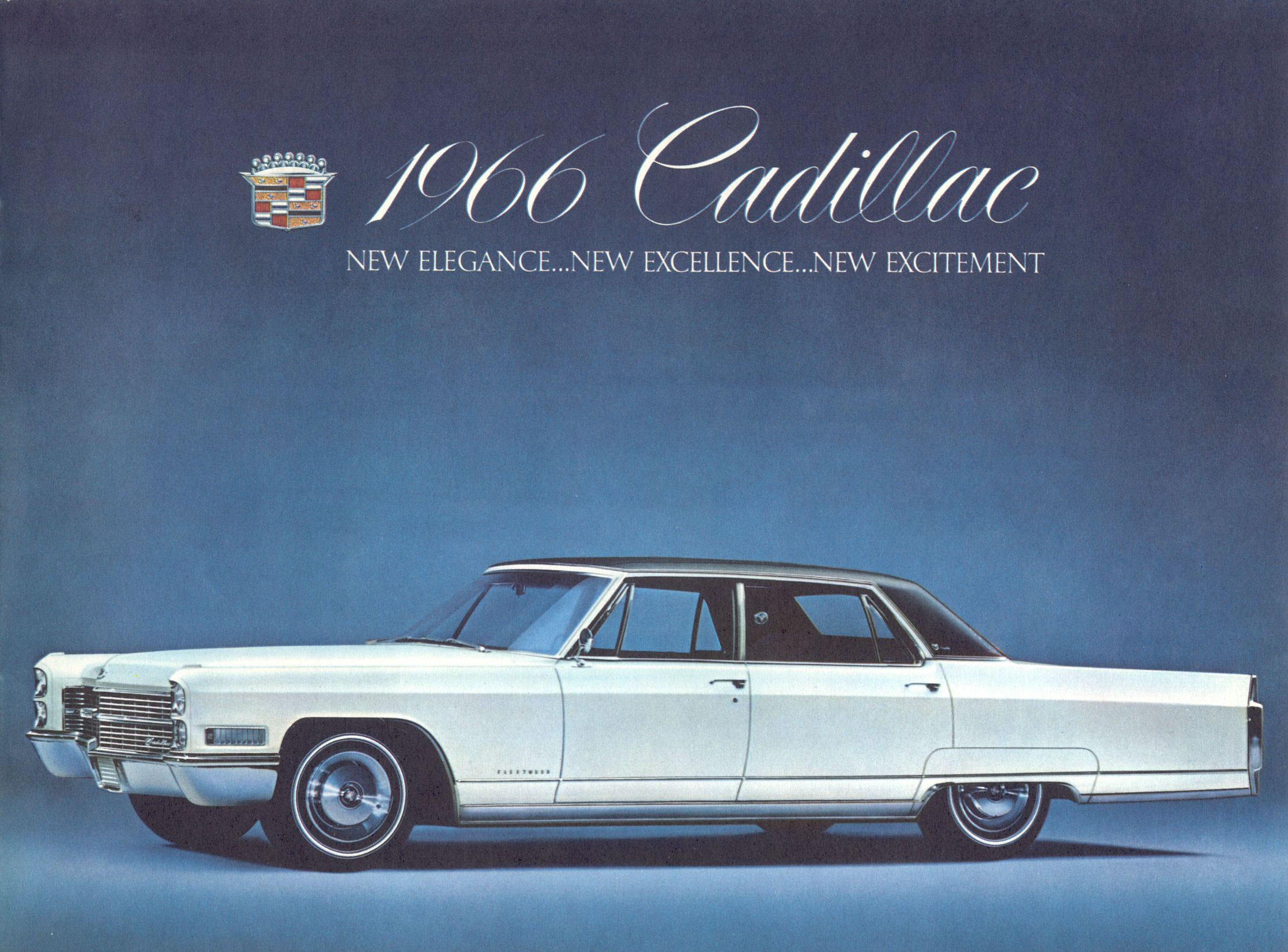 1966 Cadillac Brochure Page 01 Jpg