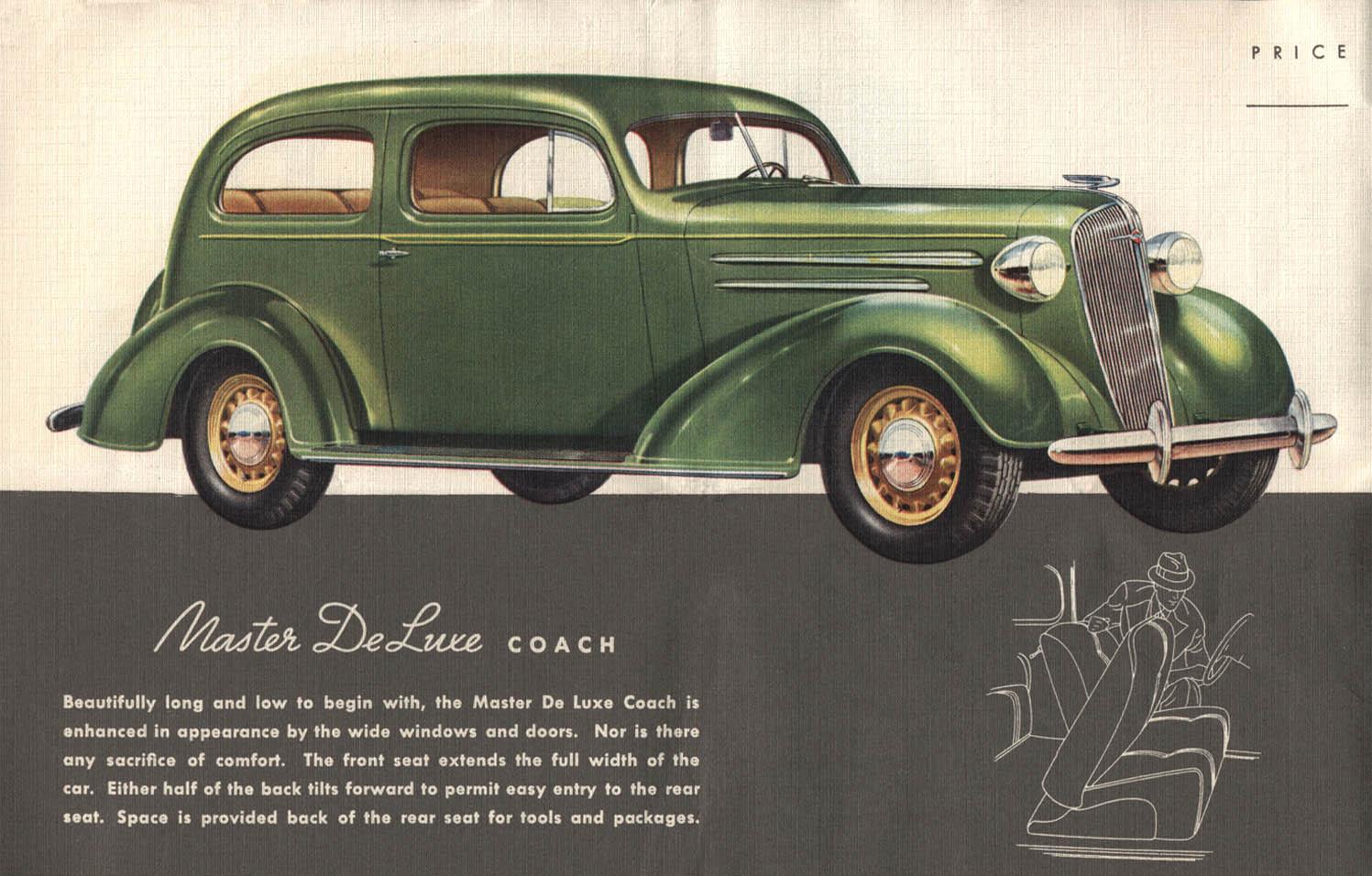 Old Cars Photos >> 1936 Chevrolet Brochure