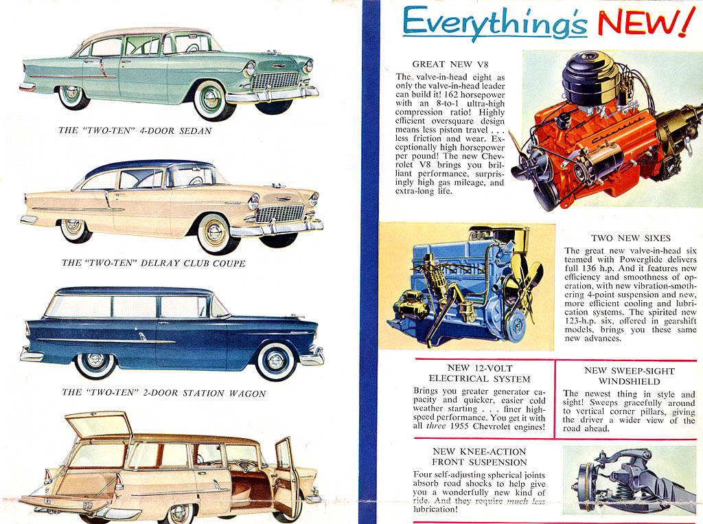 Chevrolet Bel Air And Biscayne Station Wagons  Cars