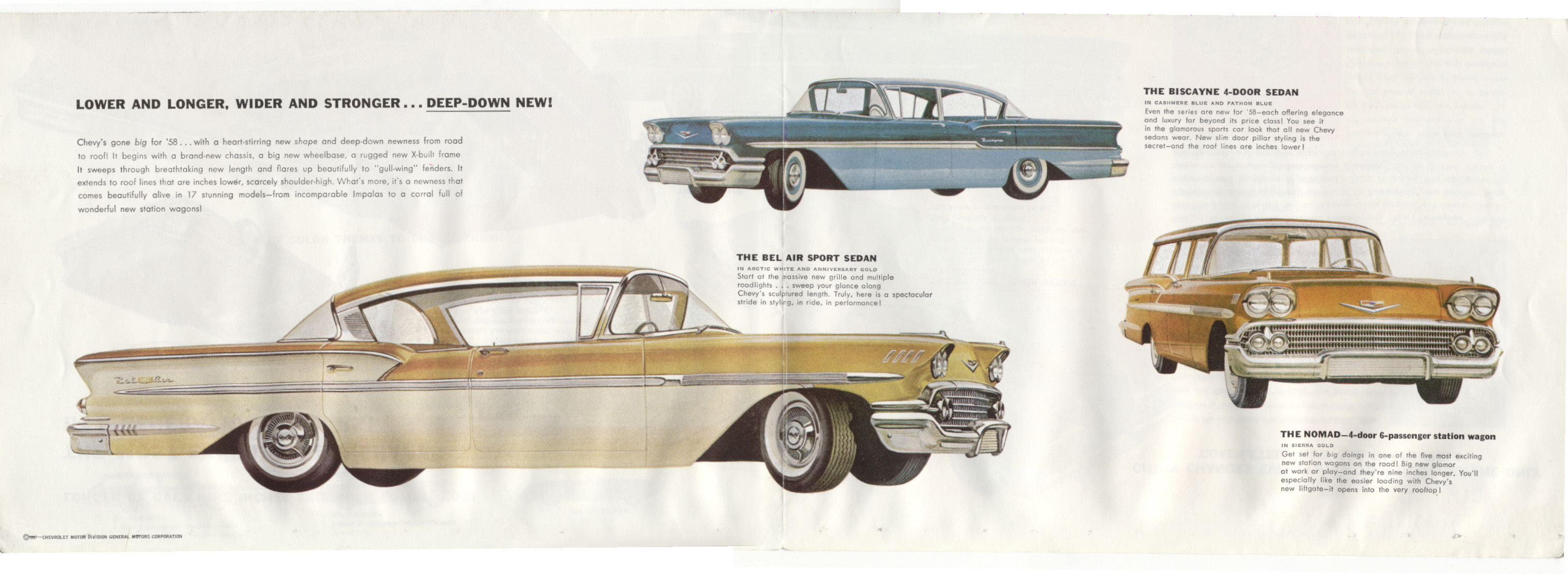 1958 chevrolet the old car manual project rh oldcarmanualproject com Old Chrysler Cars old chevy car manual project