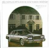 1981 Chrysler New Yorker Brochure