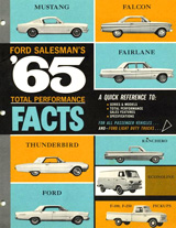 1965 Ford Salesman's Total Performance Facts