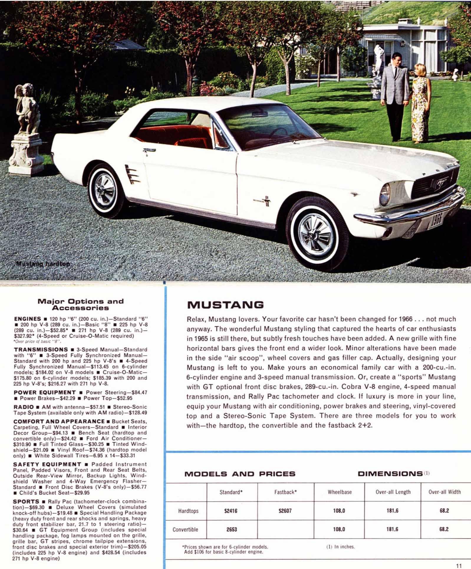 1966 Ford Full Line Brochure