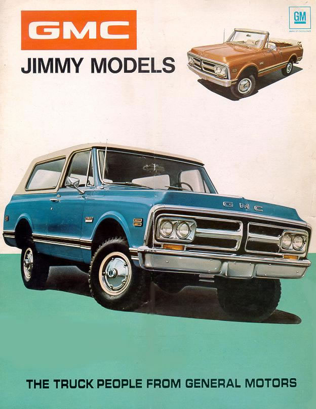 Chevy Car Old >> 1972 Chevrolet and GMC Truck Brochures / 1972 GMC Jimmy-01.jpg