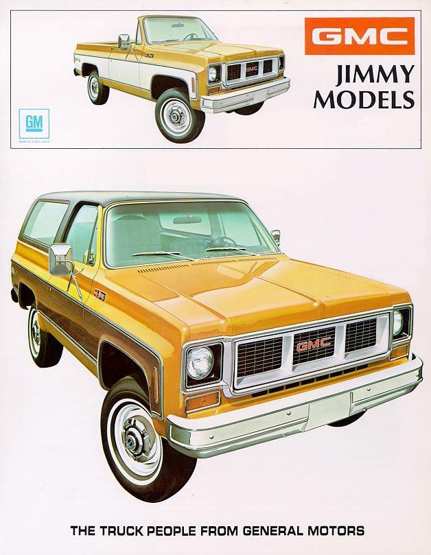 1973 Chevrolet And Gmc Truck Brochures 1973 Gmc Jimmy 01 Jpg