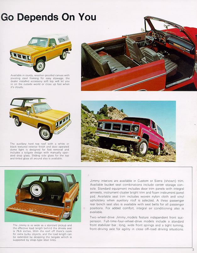 1974 Chevrolet and GMC Truck Brochures / 1974 GMC Jimmy-03.jpg: www.oldcarmanualproject.com/brochures/GMTrucks/1974/pages/1974 GMC...