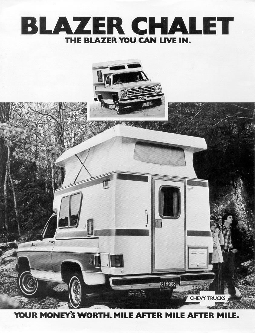 1976 Chevrolet and GMC Truck Brochures / 1976 Chevy Blazer ...