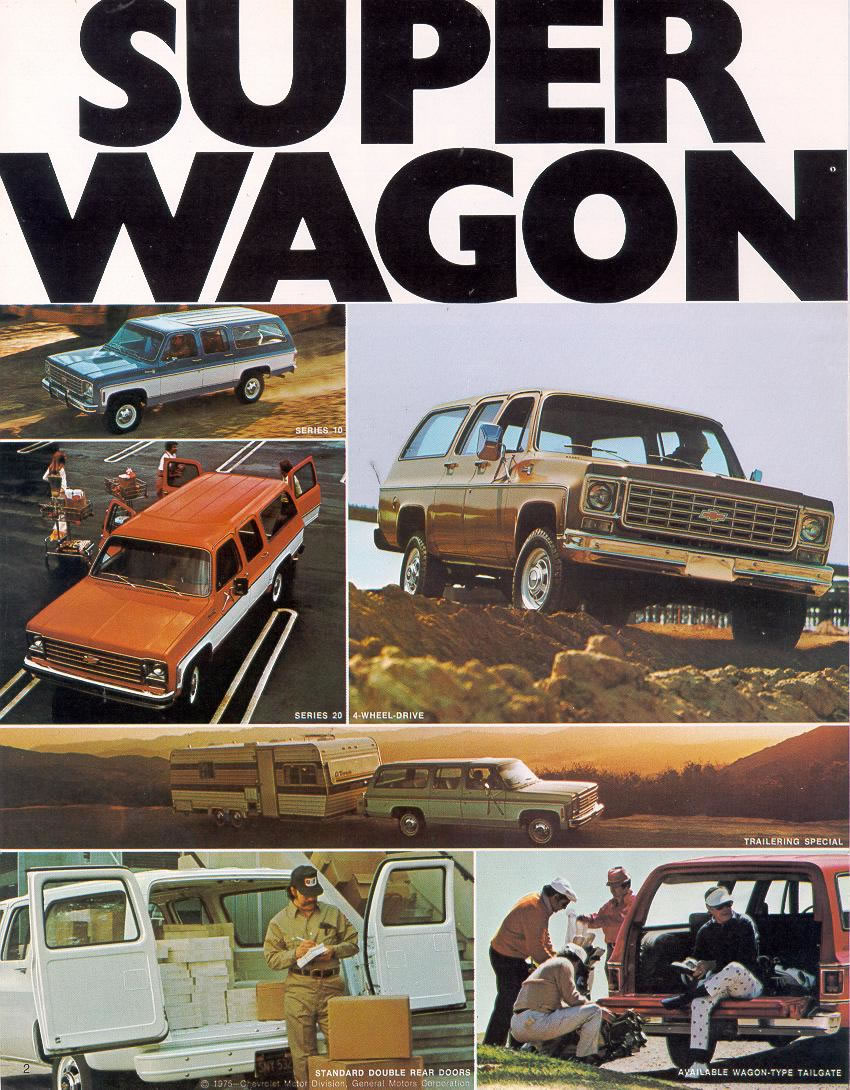 1976 Chevrolet And Gmc Truck Brochures 1976 Chevy