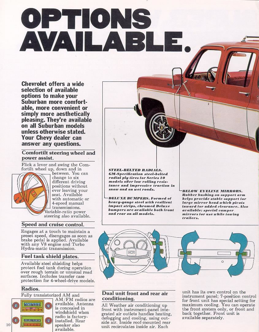 1977 Chevrolet And Gmc Truck Brochures 1977 Chevy