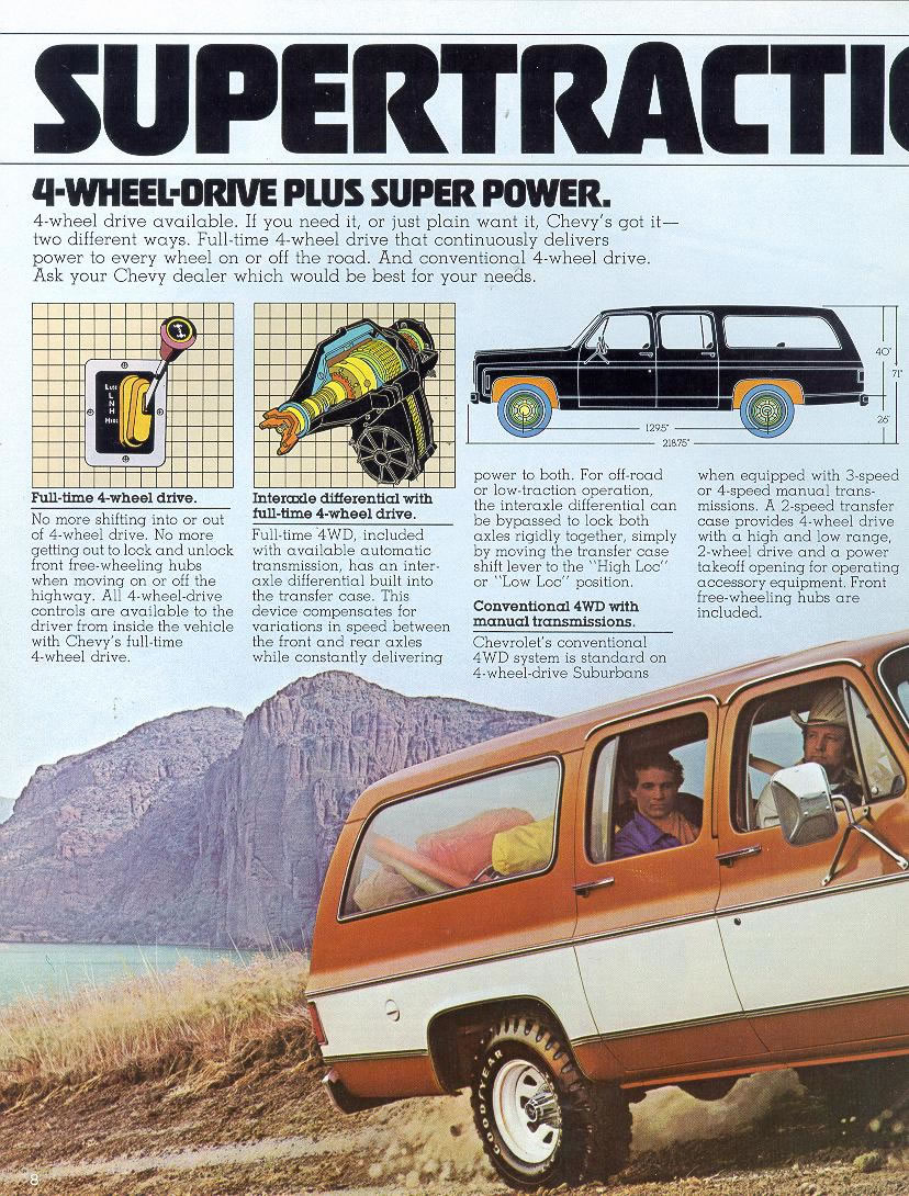 1978 Chevrolet and GMC Truck Brochures / 1978 Chevy ...