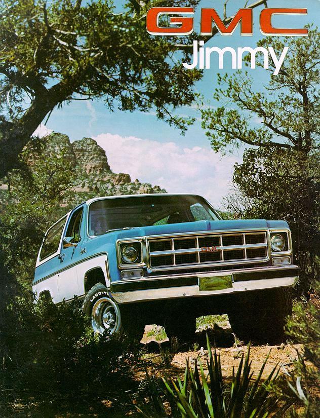 1978 Chevrolet And Gmc Truck Brochures 1978 Gmc Jimmy 01 Jpg
