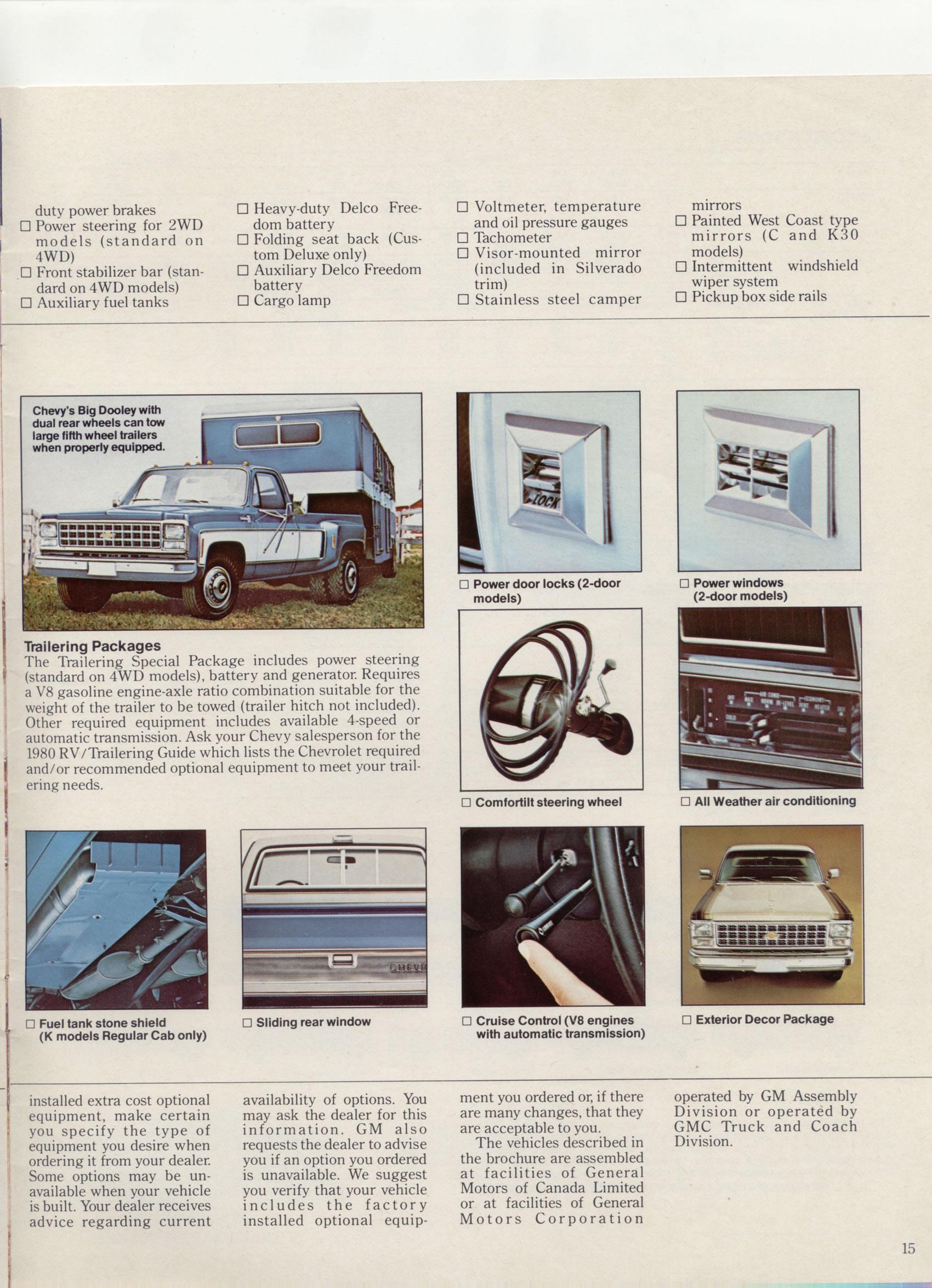 Old Chevrolet Pickups >> 1980 Chevrolet Pickups / ChevPickup1980page15.jpg