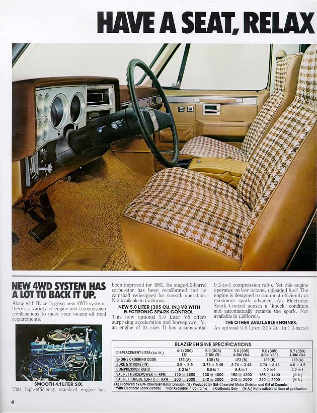Chevy Car Old >> 1981 Chevrolet and GMC Truck Brochures / 1981 Chevy Blazer-04.jpg