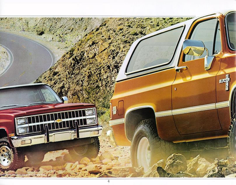 Chevy Truck Old >> 1982 Chevrolet and GMC Truck Brochures / 1982 Chevy Blazer-04.jpg