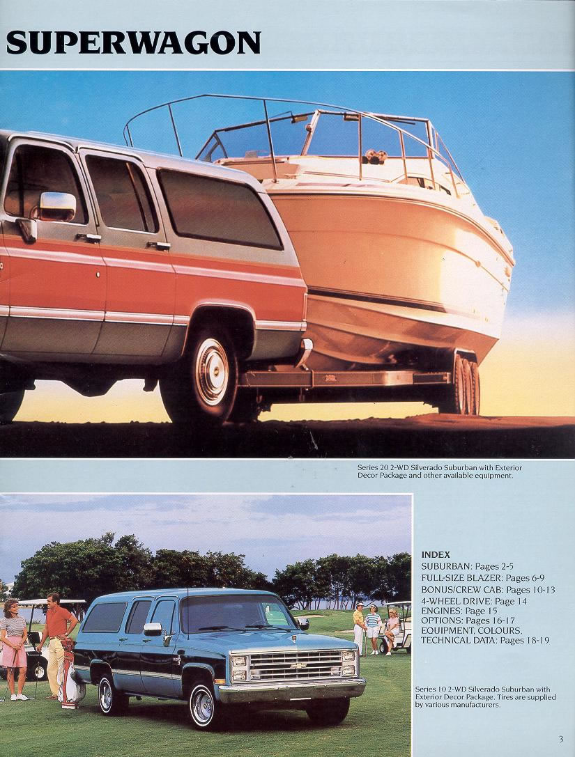 1988 Chevrolet And Gmc Truck Brochures 1988 Chevy Full