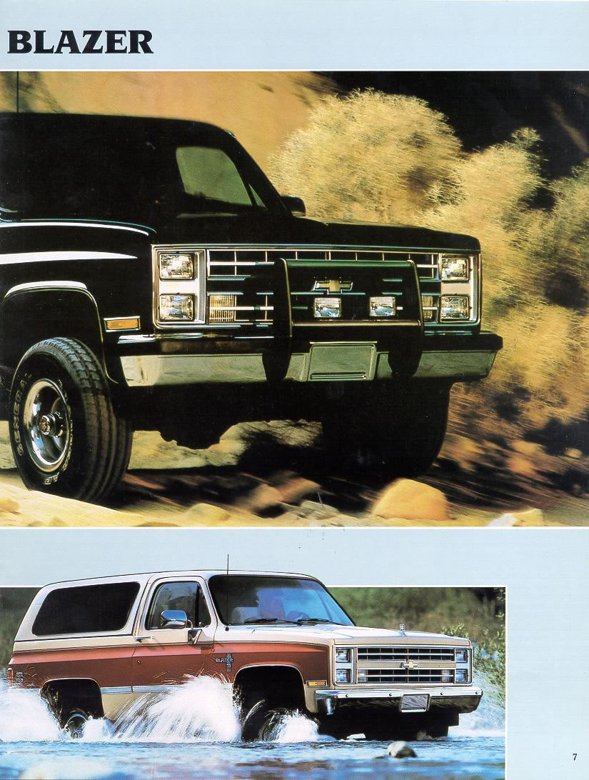 1988 chevrolet and gmc truck brochures 1988 chevy full size. Black Bedroom Furniture Sets. Home Design Ideas