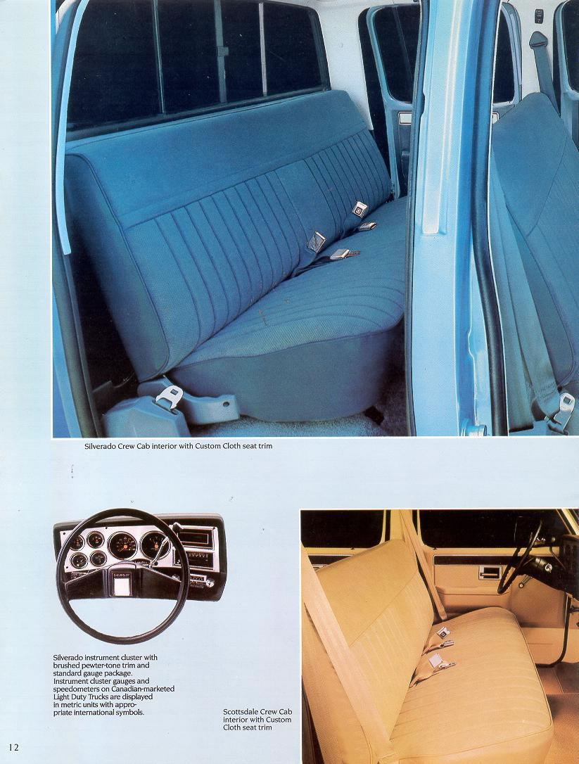 1988 Chevrolet and GMC Truck Brochures / 1988 Chevy Full ...