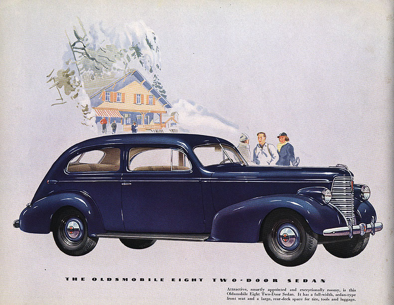1938 oldsmobile brochure page 14 jpg for 1938 oldsmobile 2 door sedan