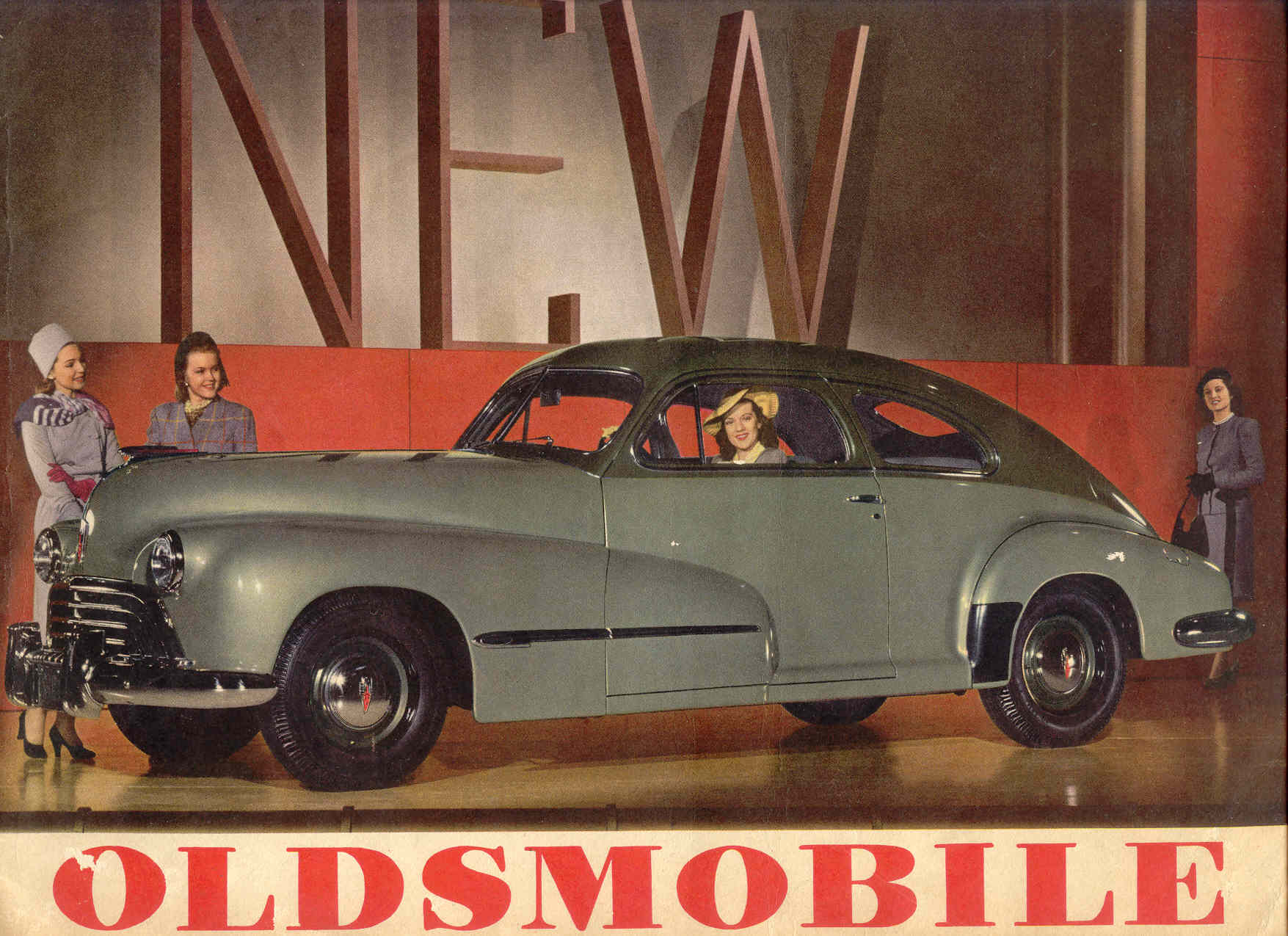1946 Oldsmobile Wiring Diagram 1941 Brochure Rh Oldcarmanualproject Com 1995 Diagrams Cutlass