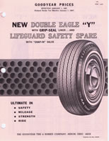 1967 Goodyear Double Eagle Prices