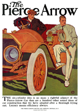 1910 Pierce-Arrow ad