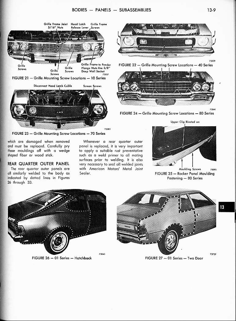 value of old car manuals