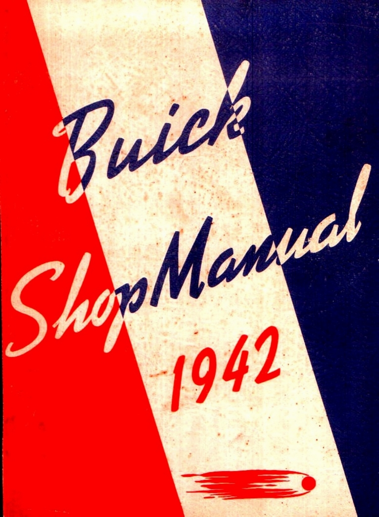 The old car manual project 1942 buick shop manual fandeluxe Image collections