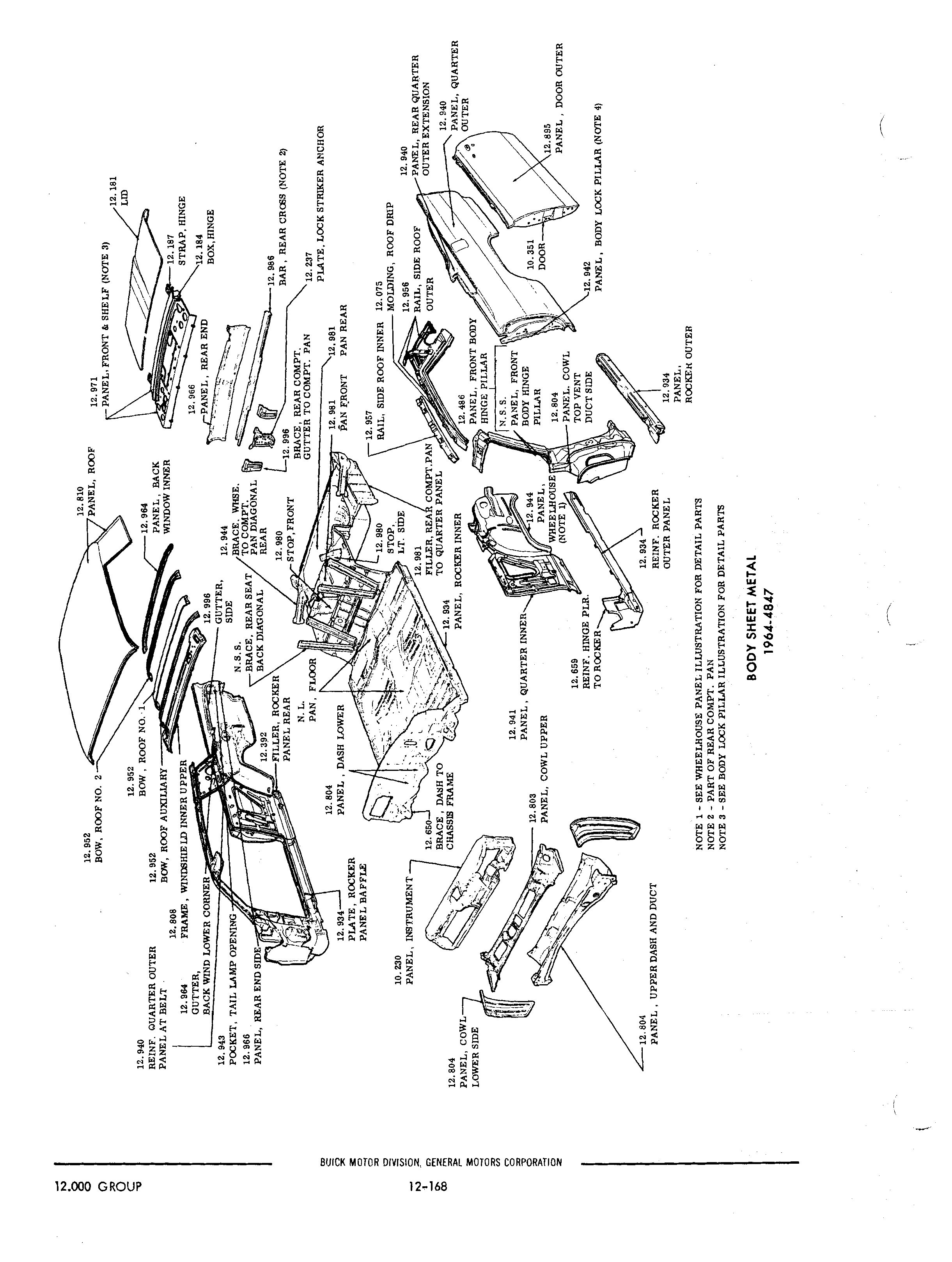 old buick parts catalog