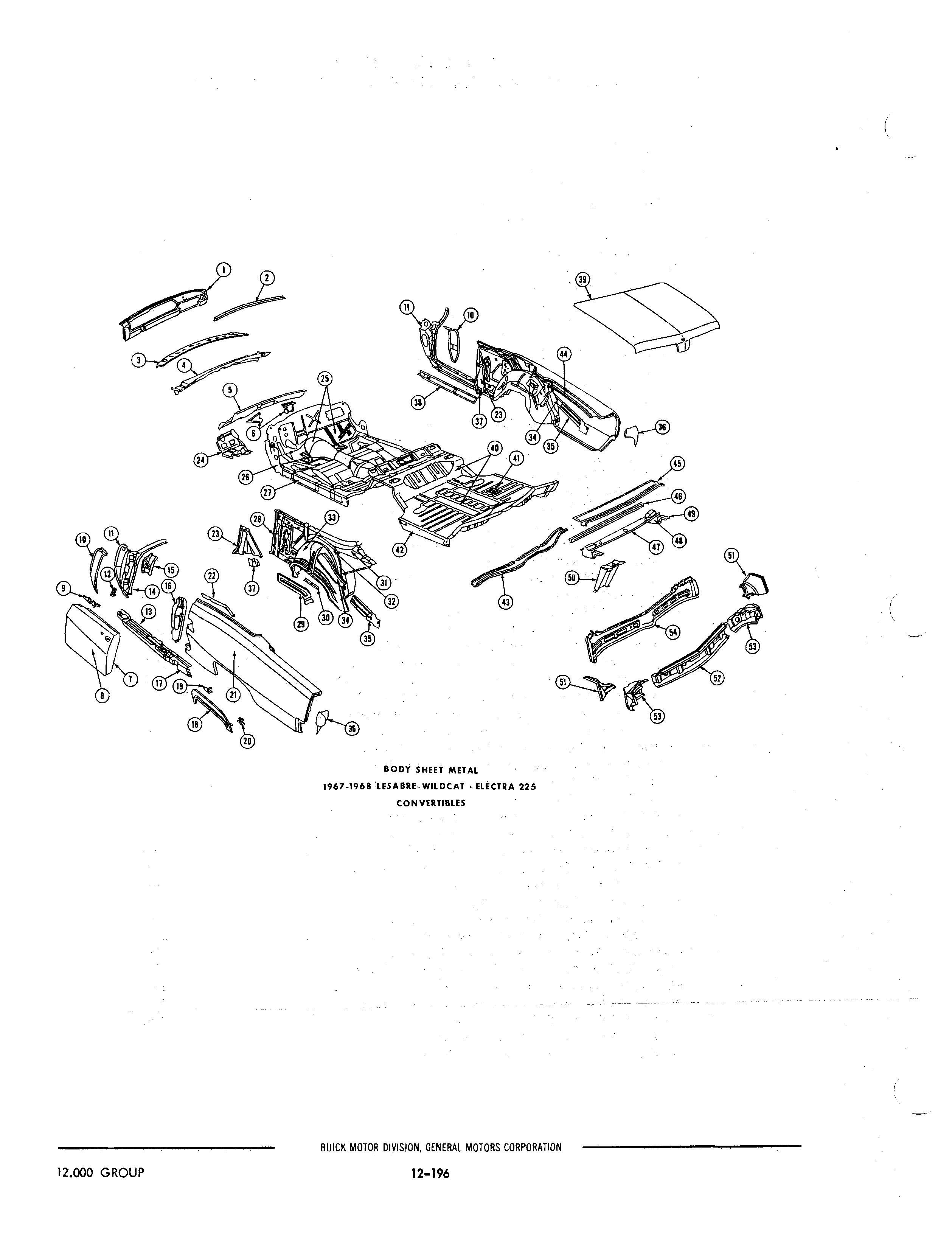 buick body parts catalog